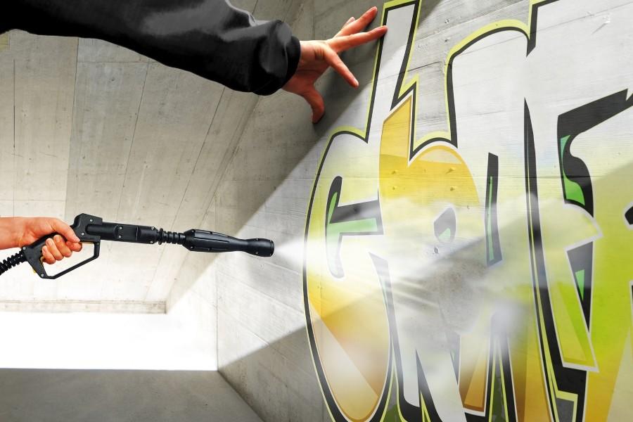 Применение INCONTTECH для удаления граффити